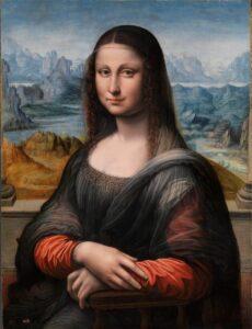 Obraz Mona Lisa - znane osoby a social proof